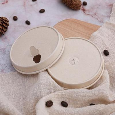 Ecofriendly disposable paper cup lid